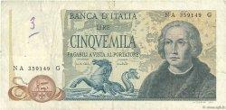 5000 Lire ITALIE  1971 P.102a TB