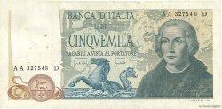 5000 Lire ITALIE  1971 P.102a TB+