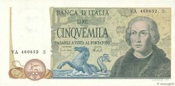 5000 Lire ITALIE  1973 P.102b SUP