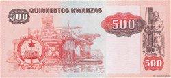 500 Kwanzas ANGOLA  1984 P.120a TTB
