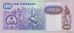 5000 Novo Kwanza sur 100 Kwanzas ANGOLA  1987 P.125 SUP