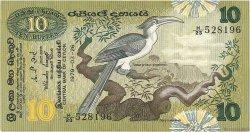 10 Rupees SRI LANKA  1979 P.085a SUP