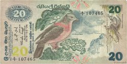 20 Rupees SRI LANKA  1979 P.086a TB