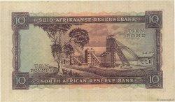 10 Pounds AFRIQUE DU SUD  1958 P.098 pr.SUP