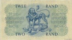 2 Rand  SOUTH AFRICA  1962 P.104b VF