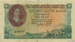 10 Rand AFRIQUE DU SUD  1962 P.107b TB+
