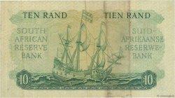 10 Rand AFRIQUE DU SUD  1962 P.107b TTB