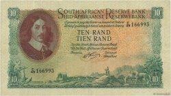 10 Rand AFRIQUE DU SUD  1962 P.106b