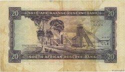 20 Rand AFRIQUE DU SUD  1962 P.108A pr.TTB
