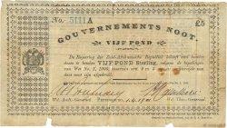5 Ponds AFRIQUE DU SUD Pietersburg 1901 P.061c B