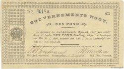 1 Pond AFRIQUE DU SUD  1901 P.060b SUP à SPL