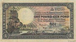 1 Pound AFRIQUE DU SUD  1947 P.084f TB+