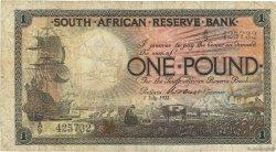 1 Pound AFRIQUE DU SUD  1922 P.075 B