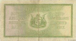 5 Pounds AFRIQUE DU SUD  1941 P.086b pr.TTB