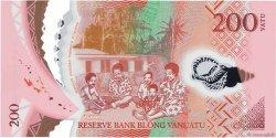 200 Vatu VANUATU  2014 P.New NEUF