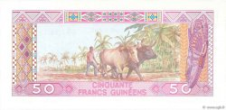 50 Francs Guinéens GUINÉE  1985 P.29a NEUF