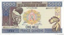 5000 Francs Guinéens GUINÉE  1985 P.33a NEUF