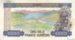 5000 Francs Guinéens GUINÉE  1985 P.33a TTB