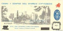 10 Shillings PAYS DE GALLES  1969 P.-- NEUF