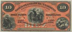 10 Pesos Bolivianos ARGENTINE  1869 PS.1784r NEUF