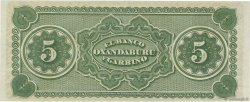 5 Pesos Fuertes ARGENTINE  1869 PS.1792r NEUF