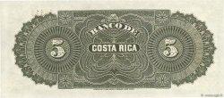 5 Pesos COSTA RICA  1899 PS.163r1 NEUF