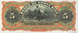 5 Colones COSTA RICA  1901 PS.173r SPL+