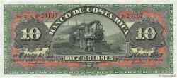 10 Colones COSTA RICA  1901 PS.174r pr.NEUF