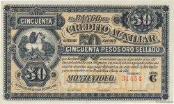 50 Pesos URUGUAY  1887 PS.165r SUP