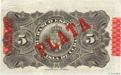 5 Pesos CUBA  1896 P.048b SUP