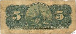 5 Centavos CUBA  1896 P.045a B