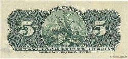 5 Centavos CUBA  1896 P.045a NEUF