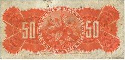 50 Centavos CUBA  1896 P.046a TB