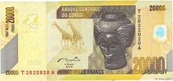 20000 Francs CONGO  2012 P.104a NEUF