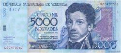 5000 Bolivares VENEZUELA  2004 P.084c NEUF