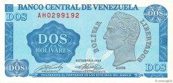 2 Bolivares VENEZUELA  1989 P.069 NEUF