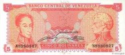 5 Bolivares VENEZUELA  1989 P.070a