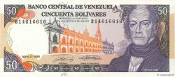50 Bolivares VENEZUELA  1990 P.072 TTB+