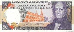 50 Bolivares VENEZUELA  1990 P.072 pr.NEUF