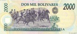 2000 Bolivares VENEZUELA  1995 P.074b SUP+
