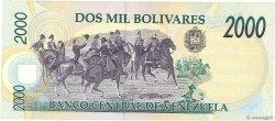 2000 Bolivares VENEZUELA  1995 P.074b SPL