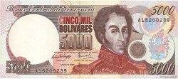 5000 Bolivares VENEZUELA  1994 P.075a SPL