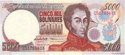 5000 Bolivares VENEZUELA  1998 P.078b NEUF