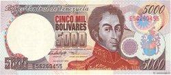 5000 Bolivares VENEZUELA  1998 P.078c NEUF