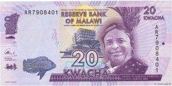 20 Kwacha MALAWI  2014 P.57 NEUF