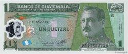 1 Quetzal GUATEMALA  2012 P.New NEUF