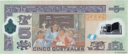 5 Quetzales GUATEMALA  2011 P.122b NEUF