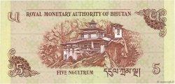 5 Ngultrum BHOUTAN  2011 P.28b NEUF