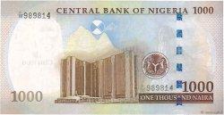 1000 Naira NIGERIA  2011 P.36f pr.NEUF