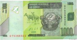 1000 Francs CONGO  2013 P.101b NEUF
